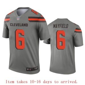Cleveland Browns Baker Mayfield Jersey Inverted
